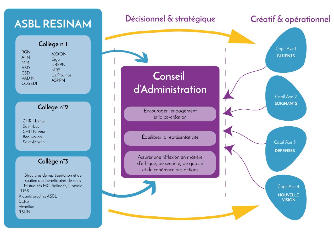 schema gouvernance resinam